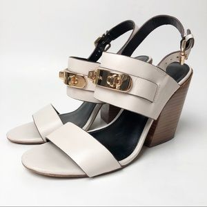 Coach | Dennis Leather Slingback Heels